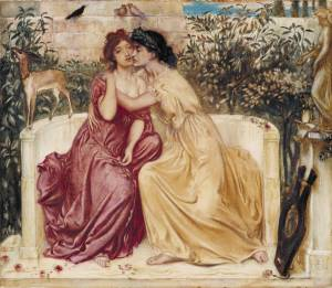 Sappho, the Mother of all Lesbians (courtesy of the Tate Museum)